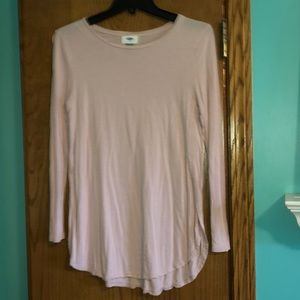 Old navy plush pink soft long sleeve